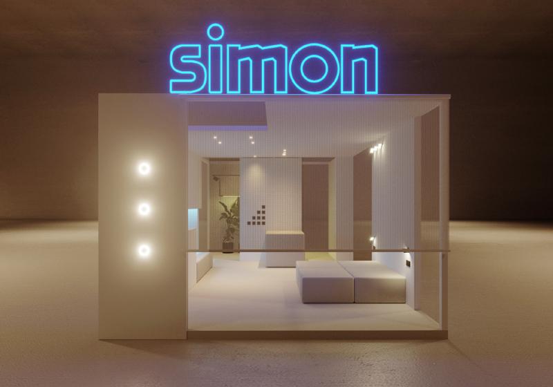 La habitación ficticia de Simon.