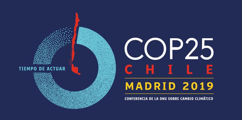 Logo de la COP25.