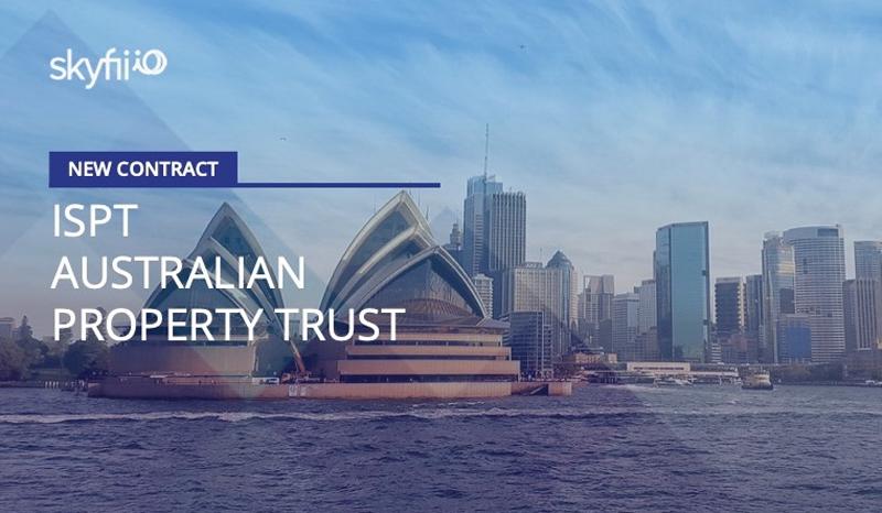 Una imagen de Sydney con el anuncio del acuerdo.