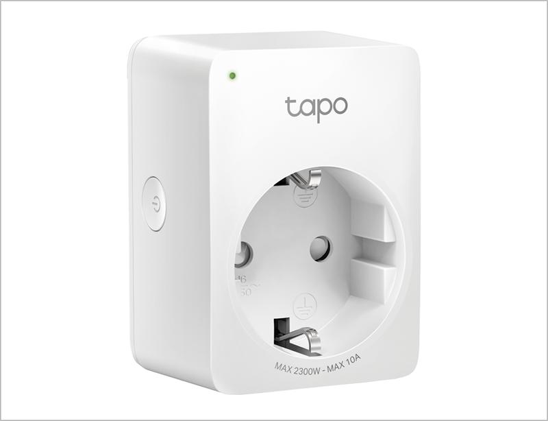 Enchufe inteligente Tapo P100 de TP-Link.