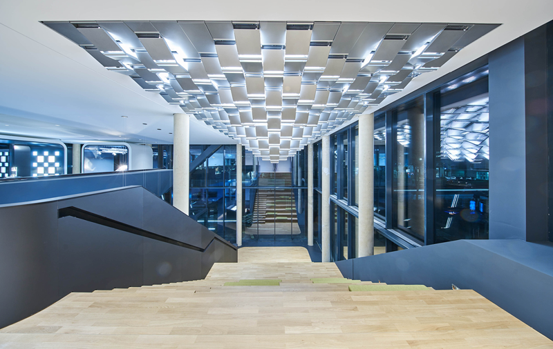 Interior de Trilux Light Campus en Colonia.