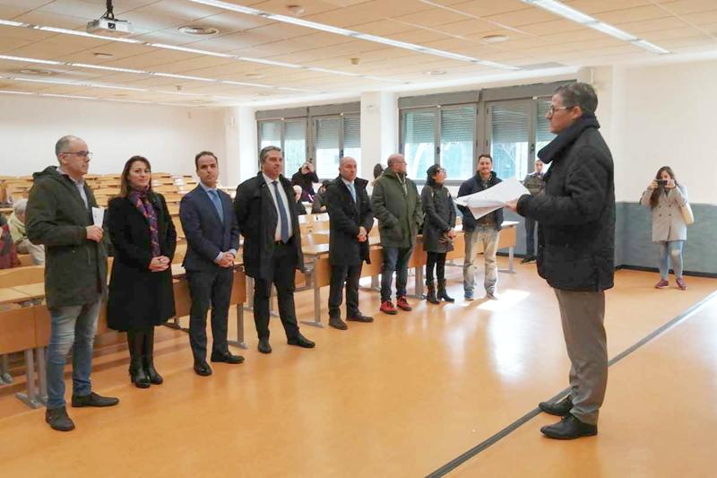 Inaguruación de las nuevas instalaciones del Campus de Fuenlabrada.