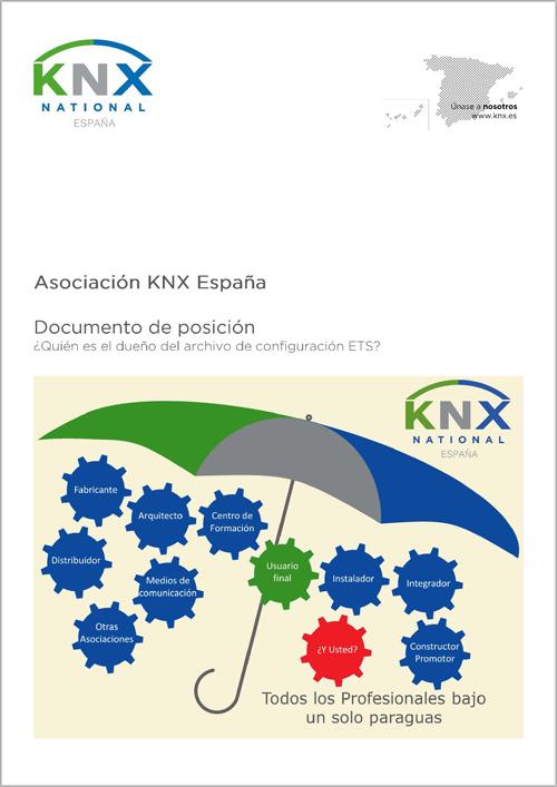 Portada del documento ETS de KNX.