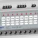 El actuador RE KNT 008 de Dinuy controla cargas resistivas, inductivas, capacitivas y LED de las lámparas