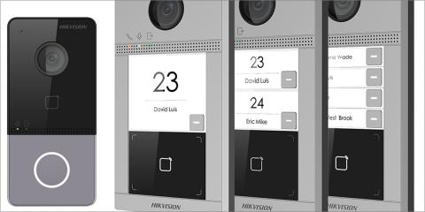 Las nuevas placas de calle IP ofrecen imágenes de calidad en cualquier situación lumínica