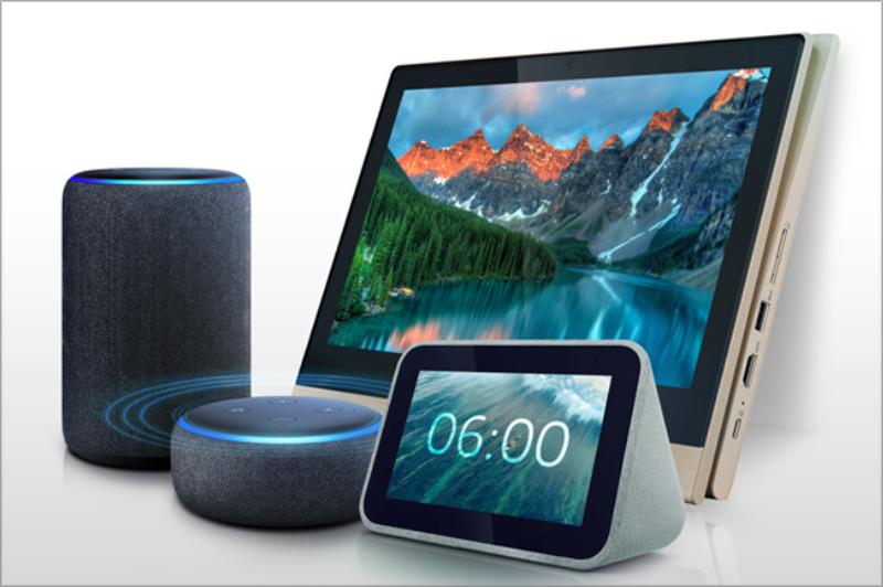 Varios dispositivos IoT.