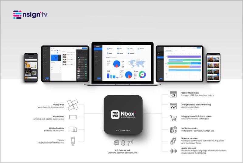 La plataforma Nsign.tv y el reproductor.