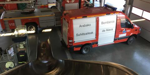 La automatización de alarmas mejora la seguridad y los tiempos de respuesta en los parques de bomberos de Álava