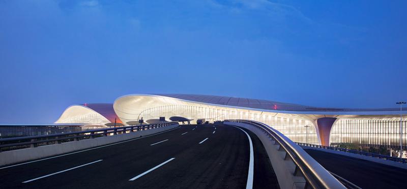 Exterior aeropuerto.