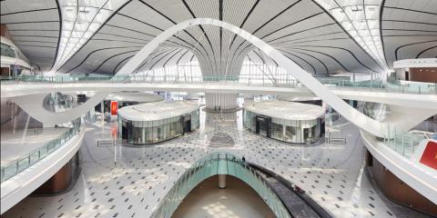 Aeropuerto Daxing, el macroproyecto inteligente que integra un aparcamiento robotizado y el seguimiento de maletas