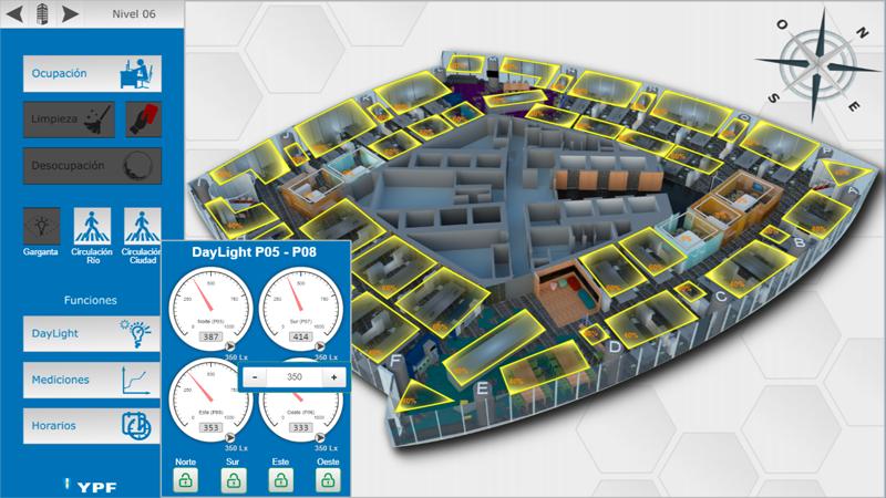 Pantallazo visualización 3D.