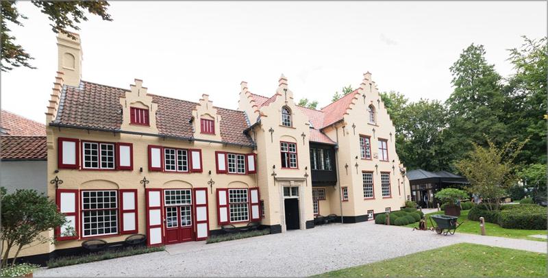 Hotel 't Fraeyhuis en Brujas.