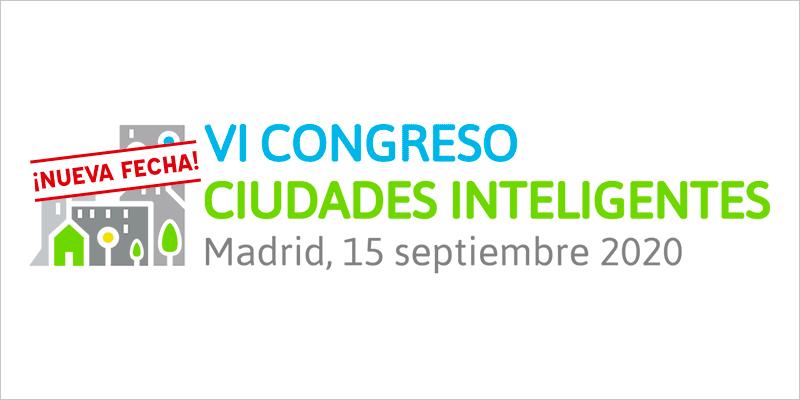 Logo del VI Congreso Ciudades Inteligentes