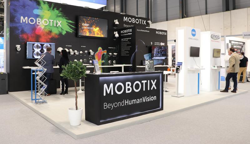 Stand de Mobotix en SICUR 2020.