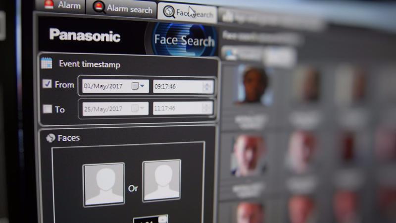 Sistema de reconocimiento facial FacePro.