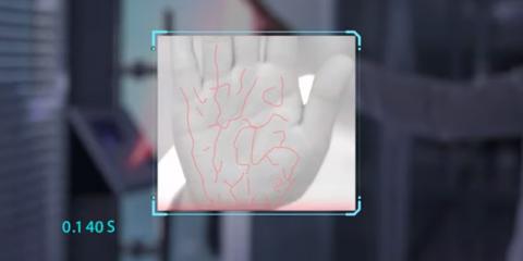 Reconocimiento biométrico de la palma de la mano gracias a la aplicación de diversos algoritmos