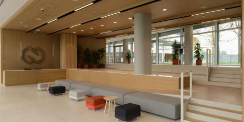 El edificio inteligente de Nordeus adapta iluminación y sistemas de climatización para alcanzar el máximo confort
