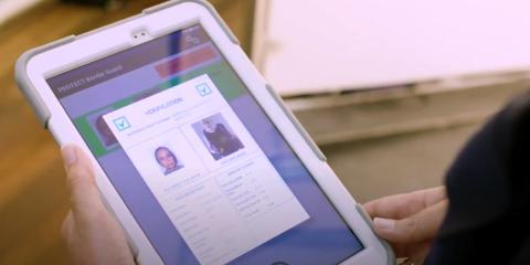 Identificación biométrica de personas en movimiento en los controles fronterizos con el proyecto Protect