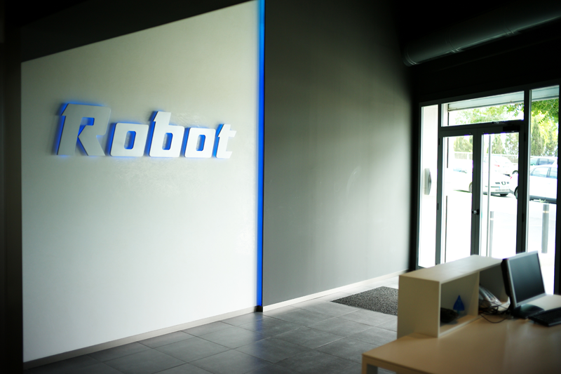 Interior de la sede de Robot, S.A.