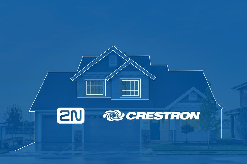 2N y Crestron compatibilizan sus productos.