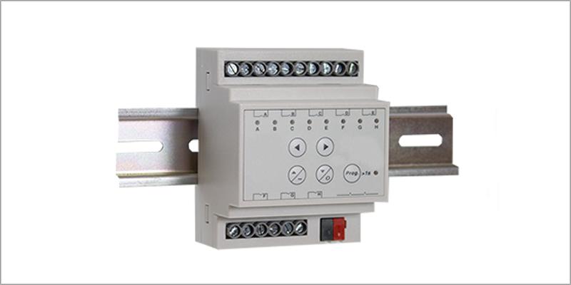 Los actuadores forman parte importante en la gestión de los sistemas automatizados de los edificios inteligentes.