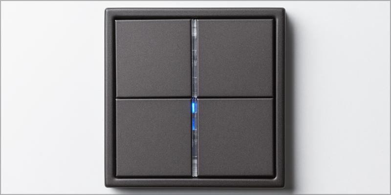 Los pulsadores permiten corta la corriente eléctrica de los dispositivos inteligentes.