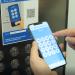 Aplicación móvil para llamar o marcar el piso en el ascensor sin contacto