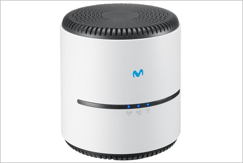 Amplificador smart Wi-Fi 6 de Telefónica.