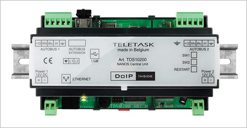 Protocolo de comunicación DoIP de Teletask.