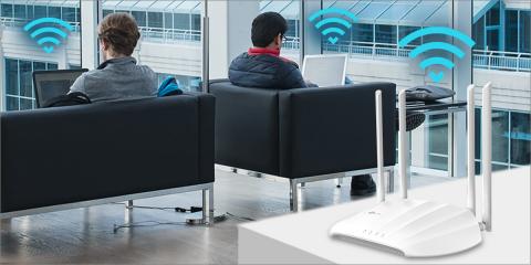 Punto de acceso inalámbrico con conexión de múltiples dispositivos sin latencia