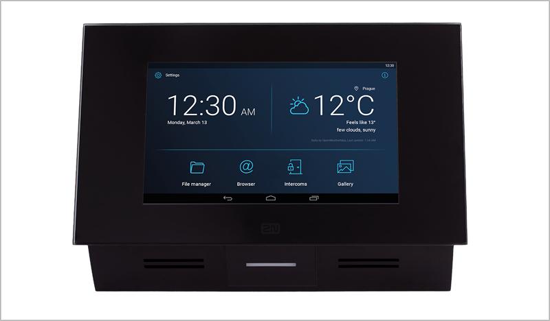 2N Indoor Touch 2.0, unidad de respuesta.