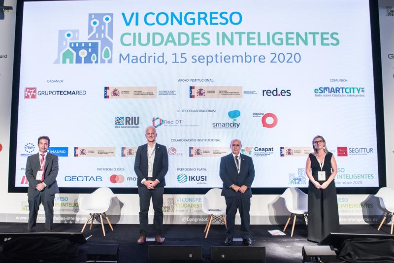 Clausura VI Congreso Ciudades Inteligentes