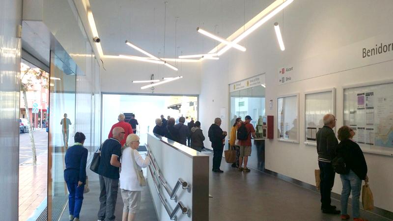 Generalitat Valenciana mejoras en Benidorm y Benidorm Intermodal del Tram de Alicante.