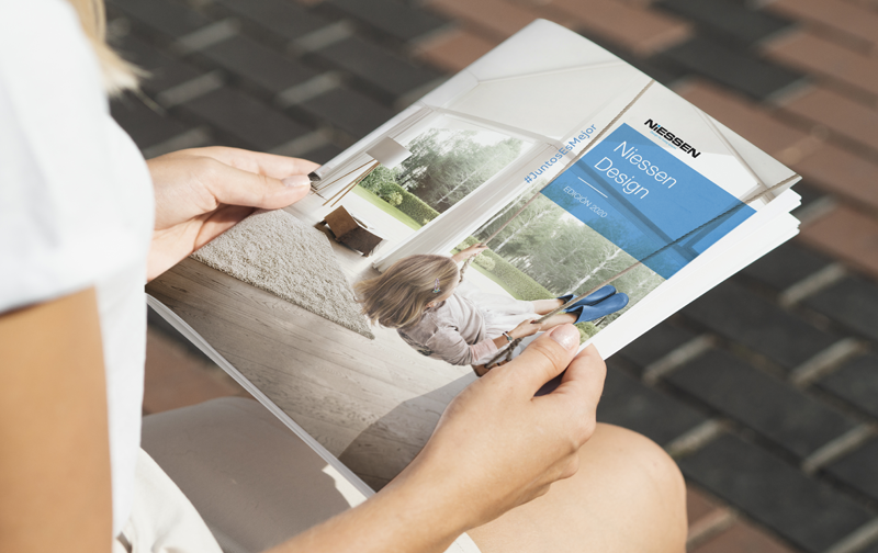 Revista Niessen Design grupo ABB.