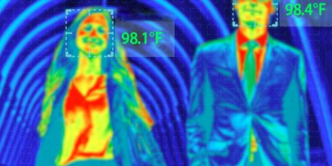 Tres centros médicos en Illinois implementan cámaras térmicas de doble espectro
