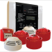 Sistema de detección de incendios con dispositivos inalámbricos y configuración por zonas