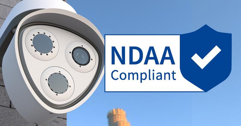 Mobotix compatible con la ley de la NDAA.