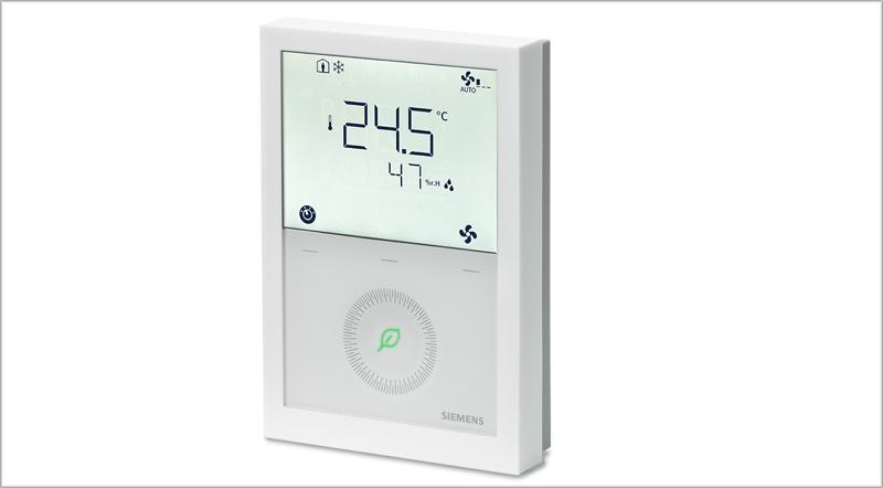 Nueva gama de termostatos de Siemens.