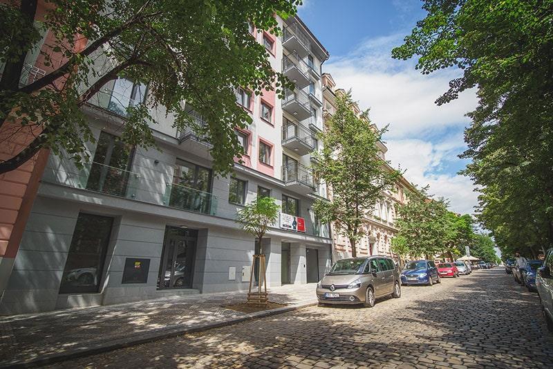 2N edificio de Praga.