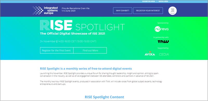 Rise Spotlights de ISE2021.