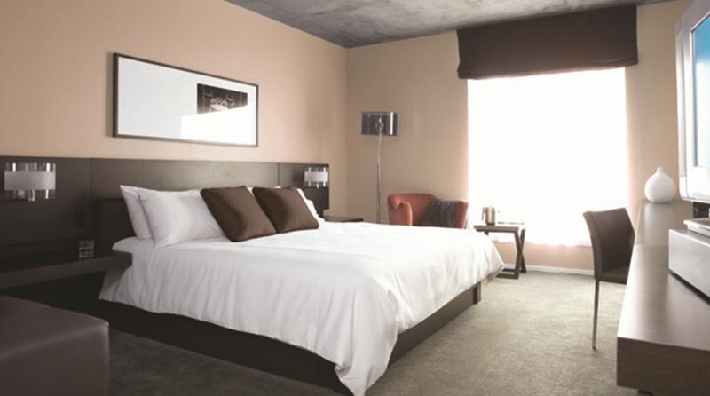 Plataforma de gestión habitaciones con la televisión inteligente.