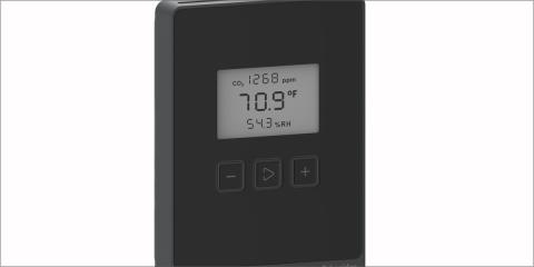 Gama de multisensores para la monitorización de la calidad del aire en interiores