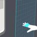 Máquina de venta de billetes sin contacto que interpreta los gestos de las manos