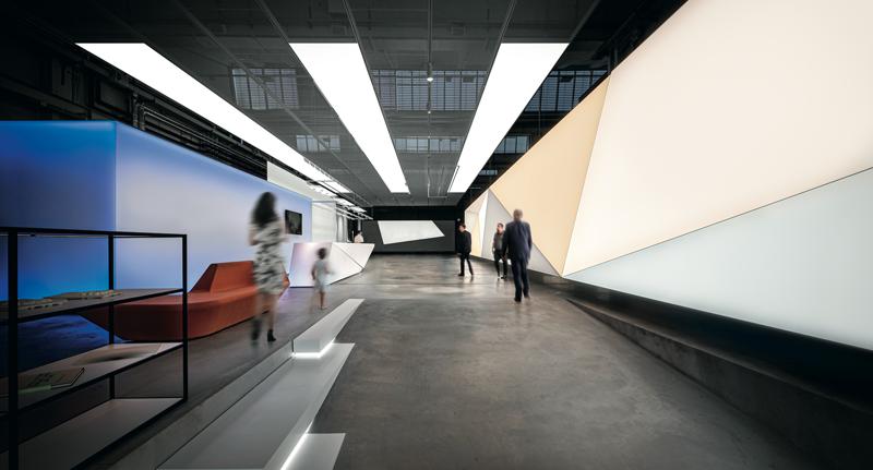 Interior de Light Forum de Zumtobel.