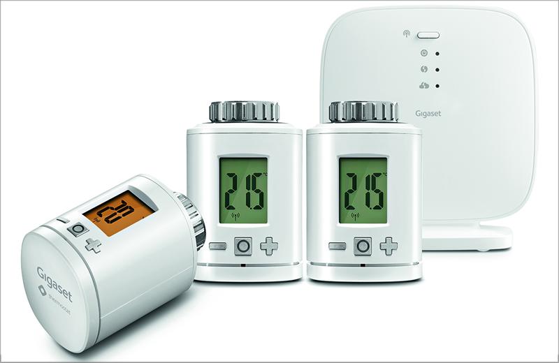 Sistema de calefacción inteligente de Gigaset.