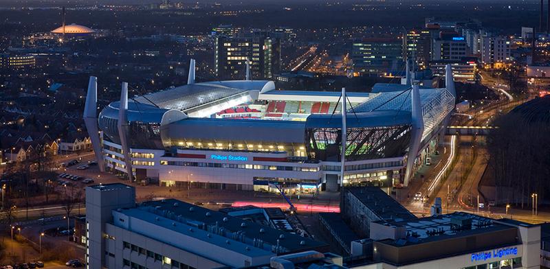 Estadio Philips del PSV.