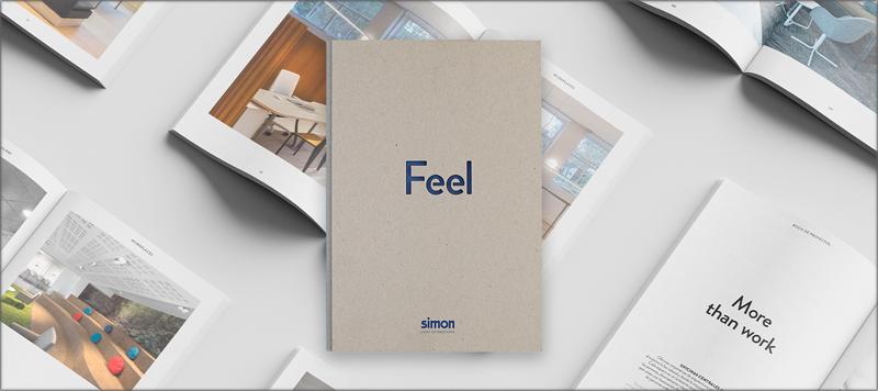 Feel, book de proyectos lumínicos de Simon.