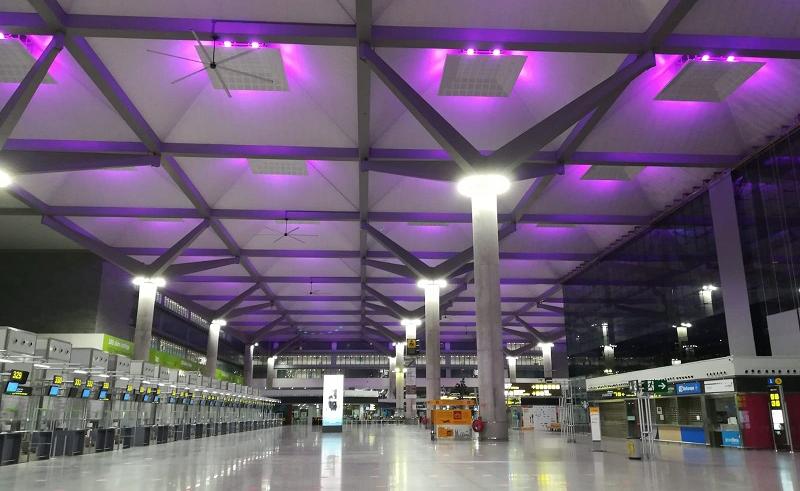 Aeropuerto de Málaga.