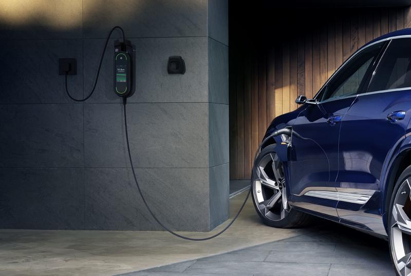 Modelo e-tron de Audi.