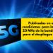 El BOE publica las condiciones para la licitación de 20 MHz de la banda de 3,5 GHz
